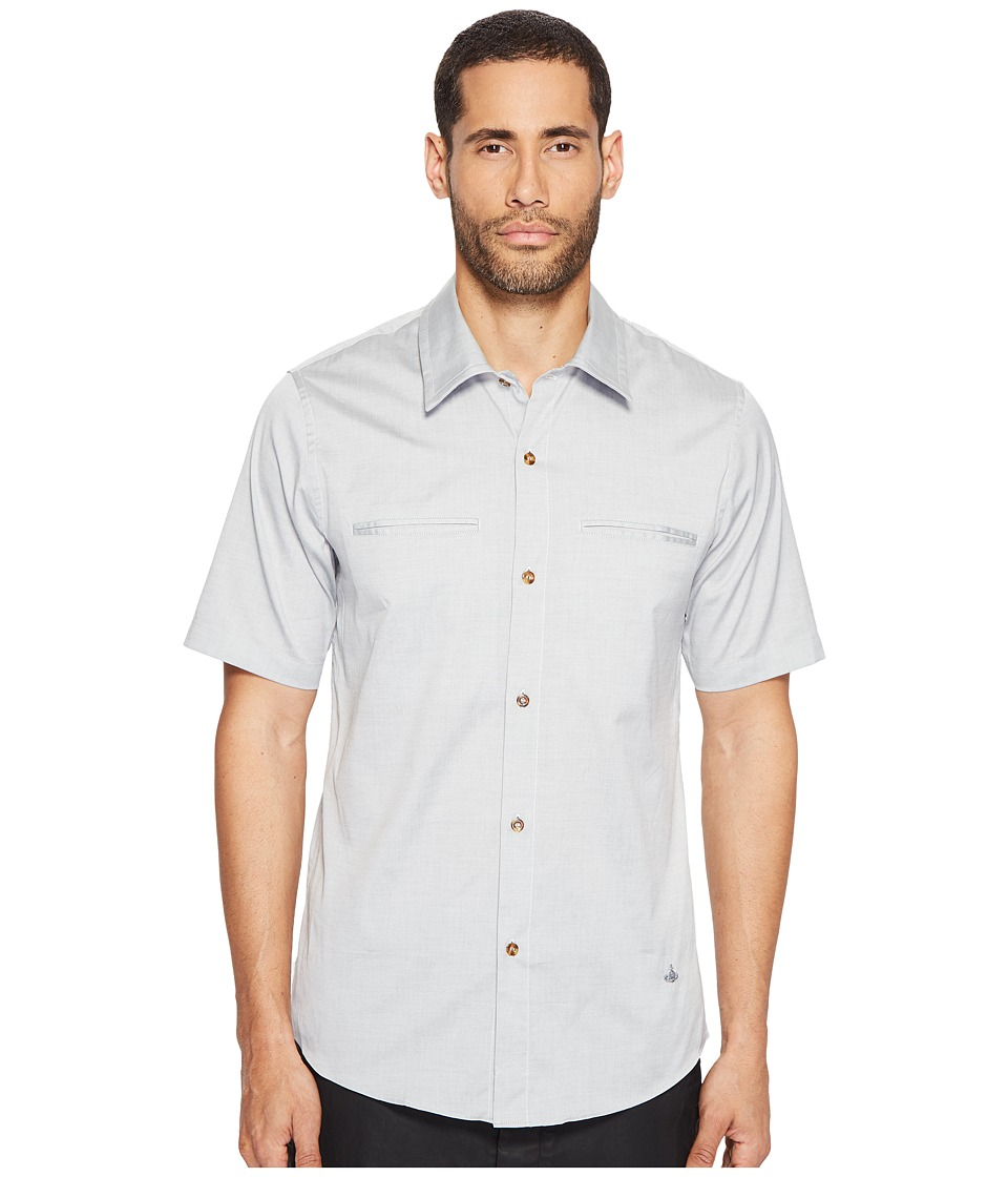 Vivienne Westwood - Classic Oxford Rattle Shirt (Stone) Men's Clothing