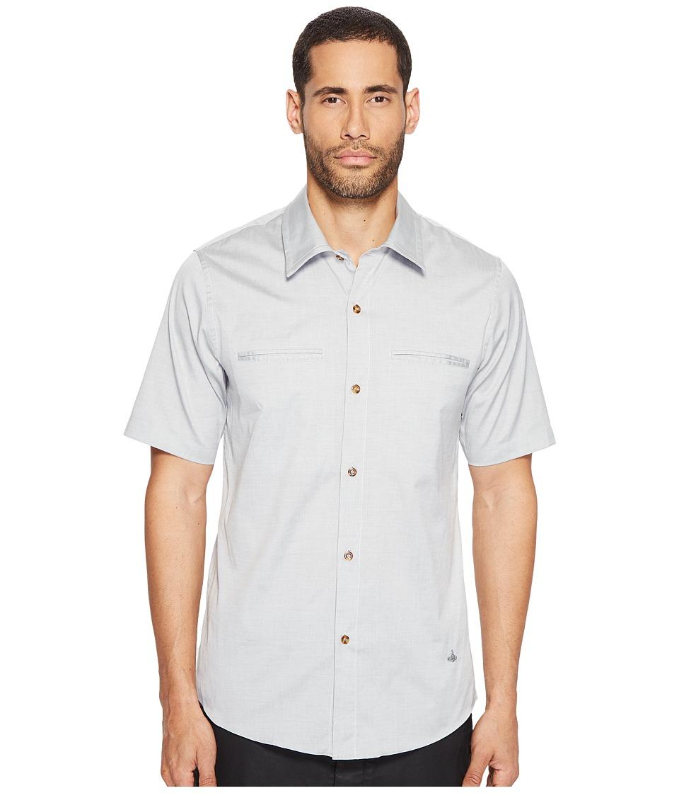 Vivienne Westwood - Classic Oxford Rattle Shirt (Stone) Men's Clothing