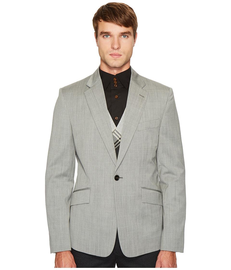 Vivienne Westwood - Classic Wool Waistcoat Blazer (Grey) Men's Jacket