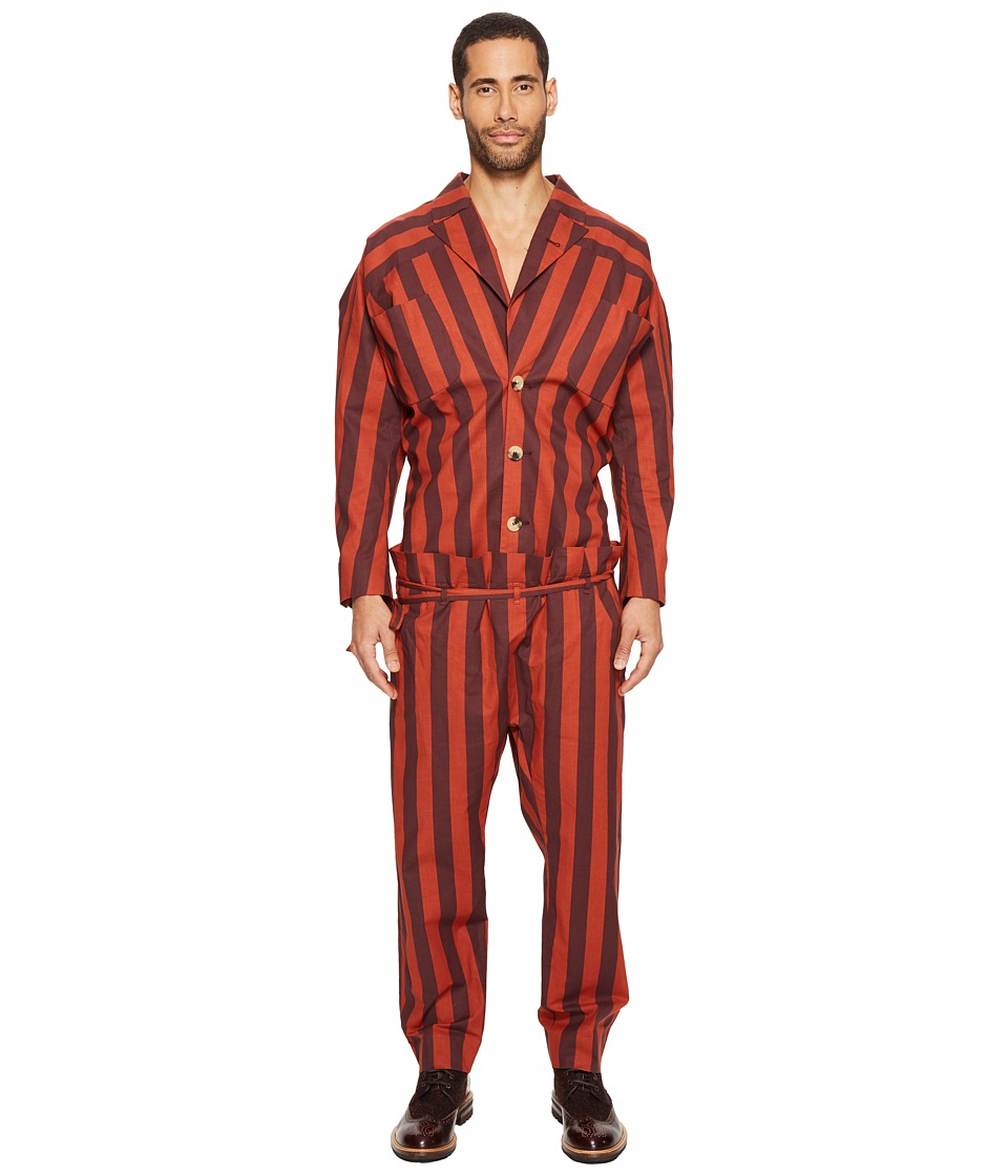Vivienne Westwood - Gig Jumpsuit (Orange) Men's Jumpsuit & Rompers One Piece