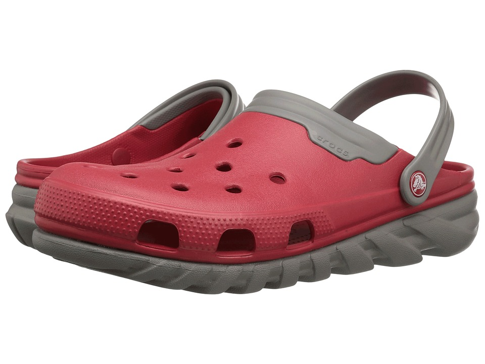 Crocs Duet Max Clog (Pepper/Smoke) Clog Shoes