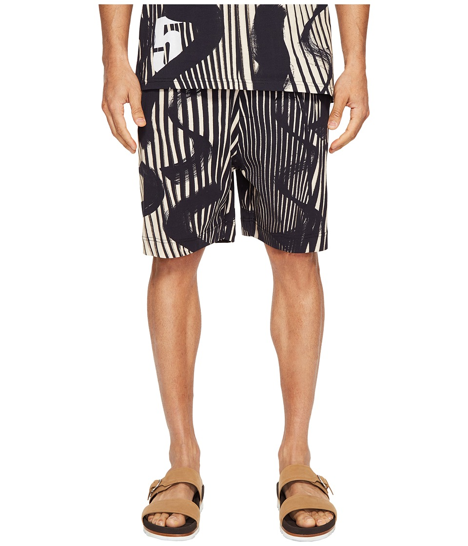 Vivienne Westwood - Basic Jersey Samurai Shorts (Black) Men's Shorts