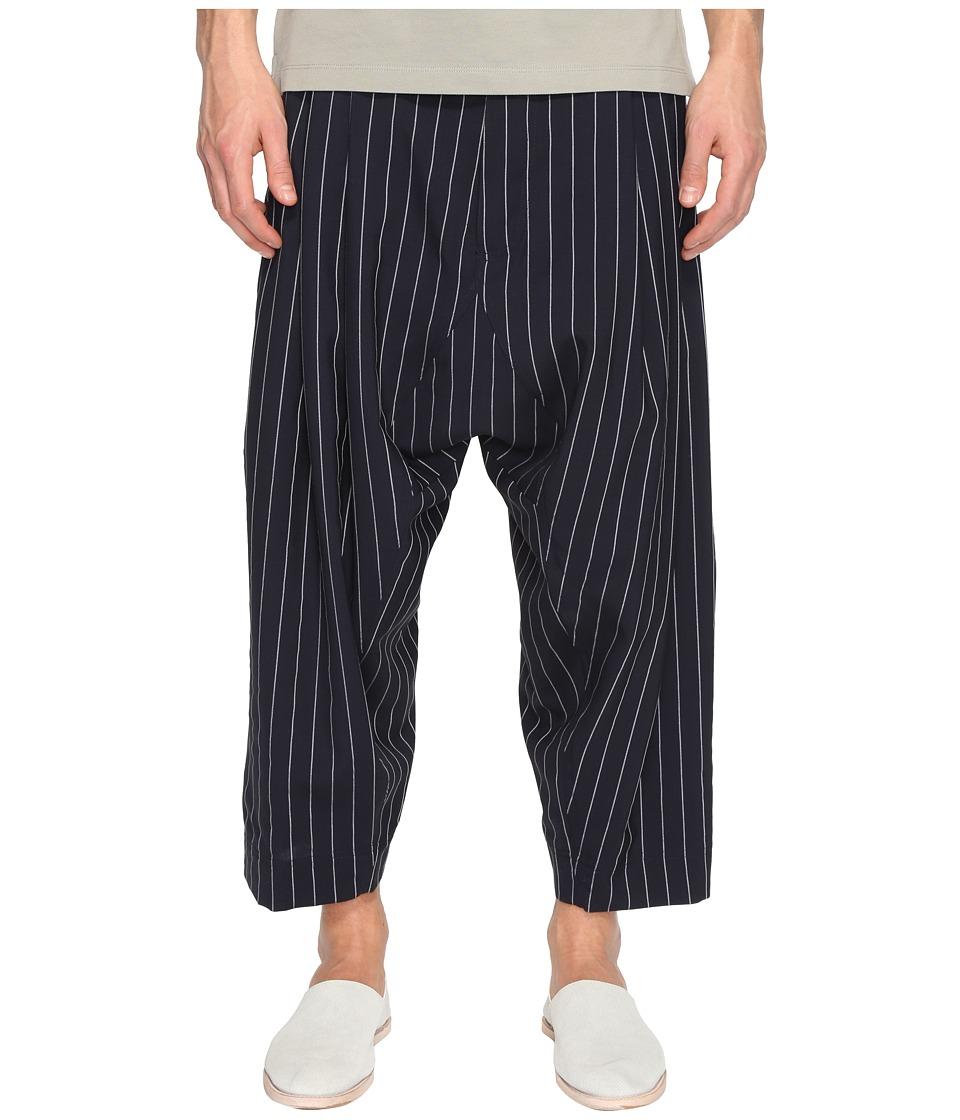 Vivienne Westwood - Pinstripe Trousers (Navy) Men's Casual Pants
