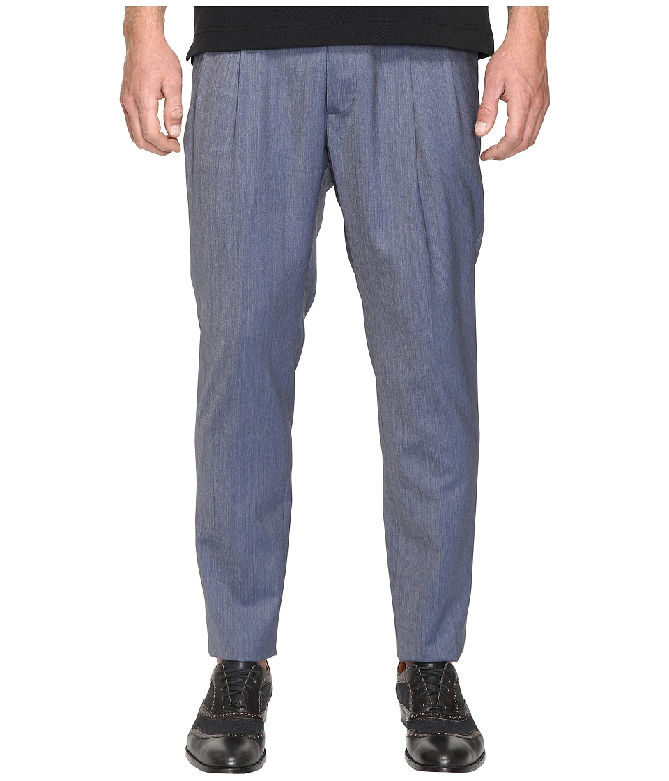 Vivienne Westwood - Basic Wool James Bond Trousers (Avio) Men's Casual Pants