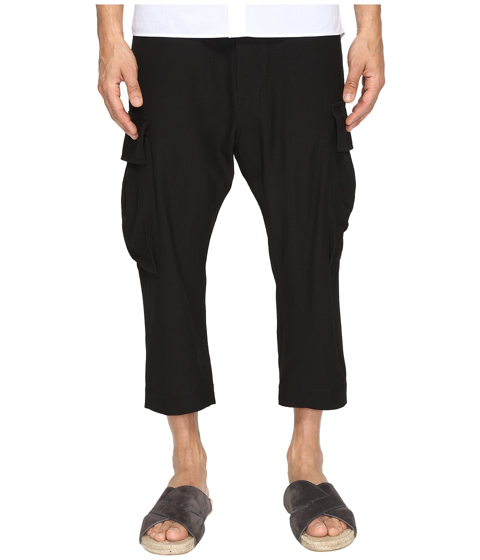 Vivienne Westwood - Seersucker Samurai Trousers (Navy) Men's Casual Pants
