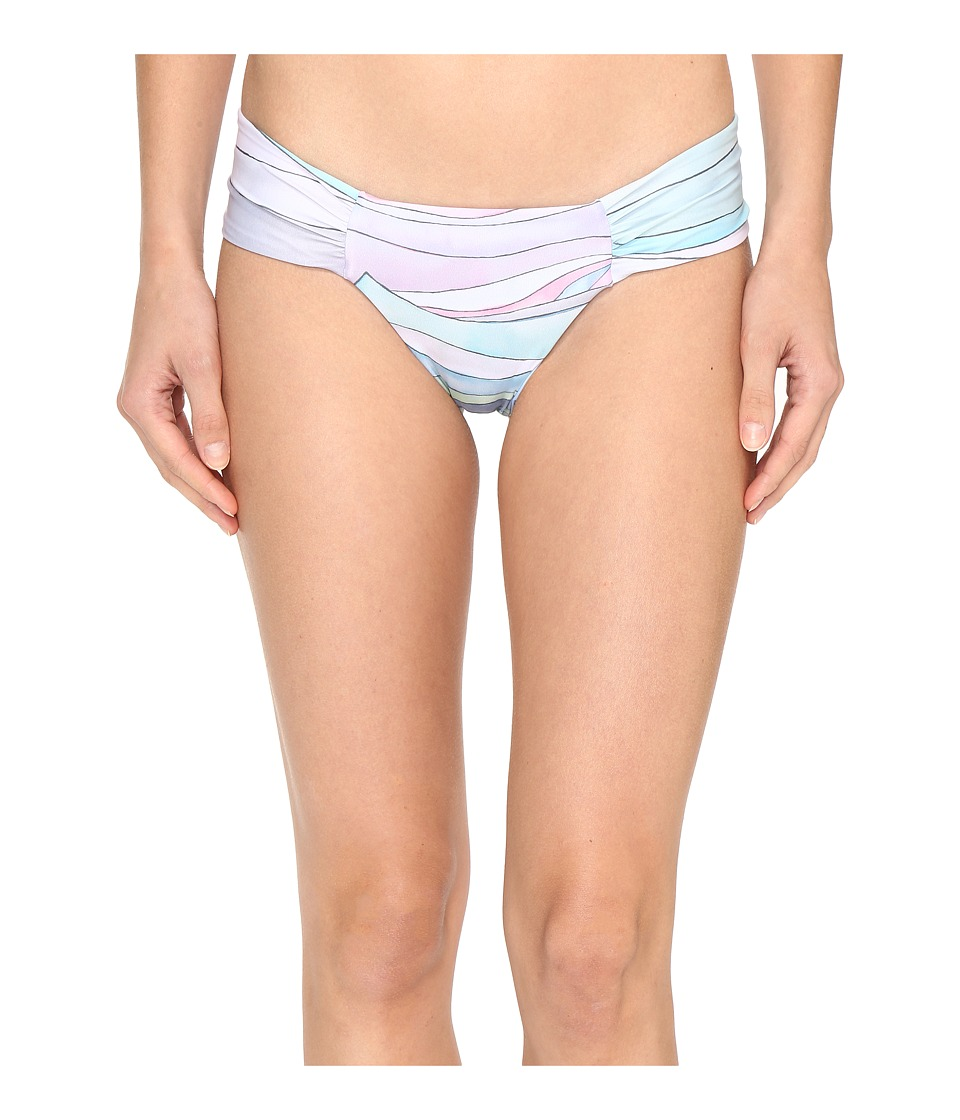 Mara Hoffman - Waves Side Ruch Bottom (Dusty Rose) Women's Swimwear