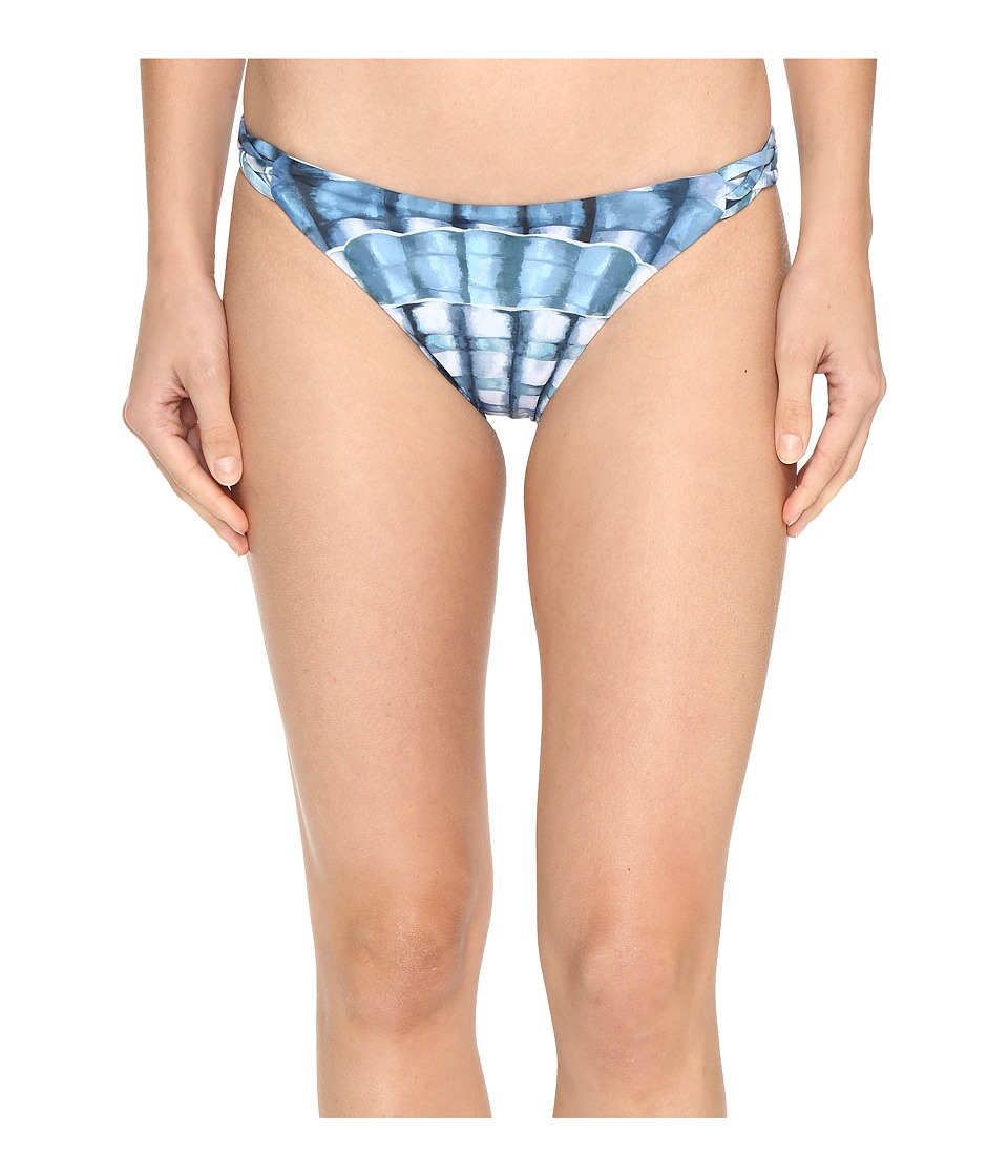 Mara Hoffman Shells Basket Weave Bottom Marine Swimwear
