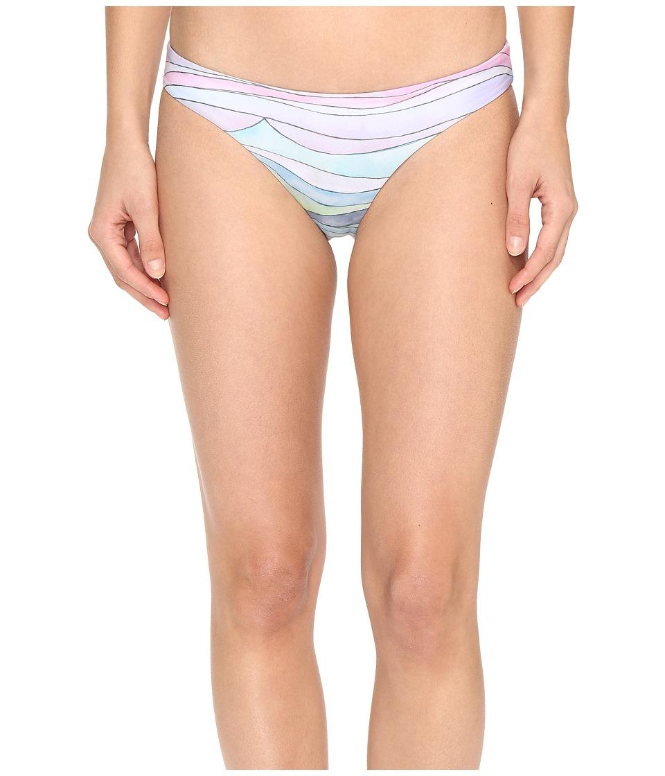 Mara Hoffman - Waves Low Rise Bottom (Dusty Rose) Women's Swimwear