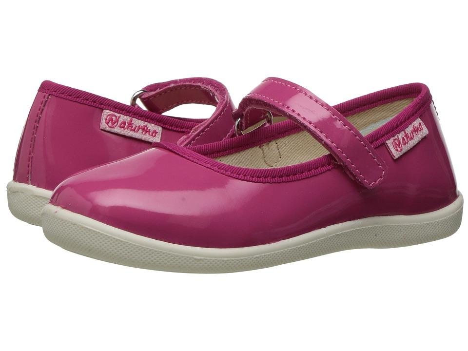 Naturino - 7944 New USA SS17 (Toddler/Little Kid/Big Kid) (Fuchsia 1) Girl's Shoes