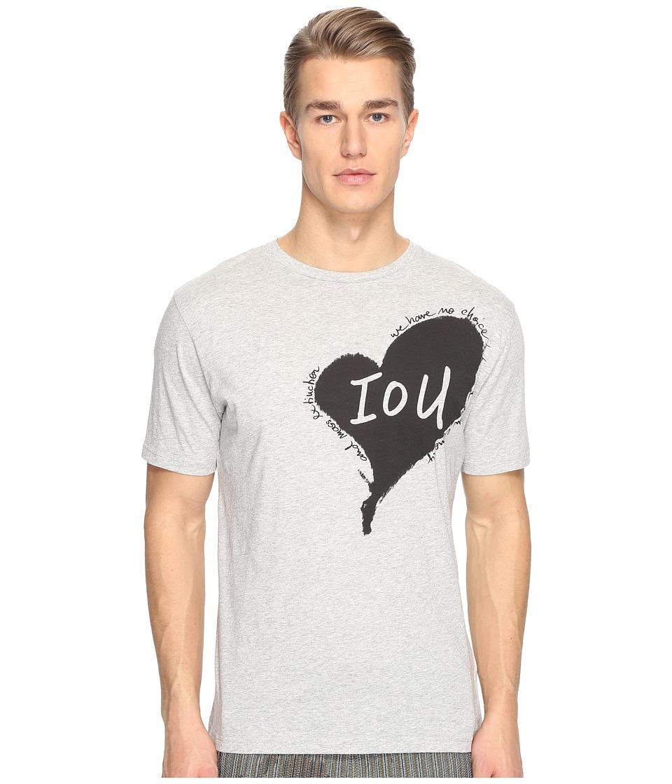 Vivienne Westwood - Heart T-Shirt (Grey) Men's T Shirt