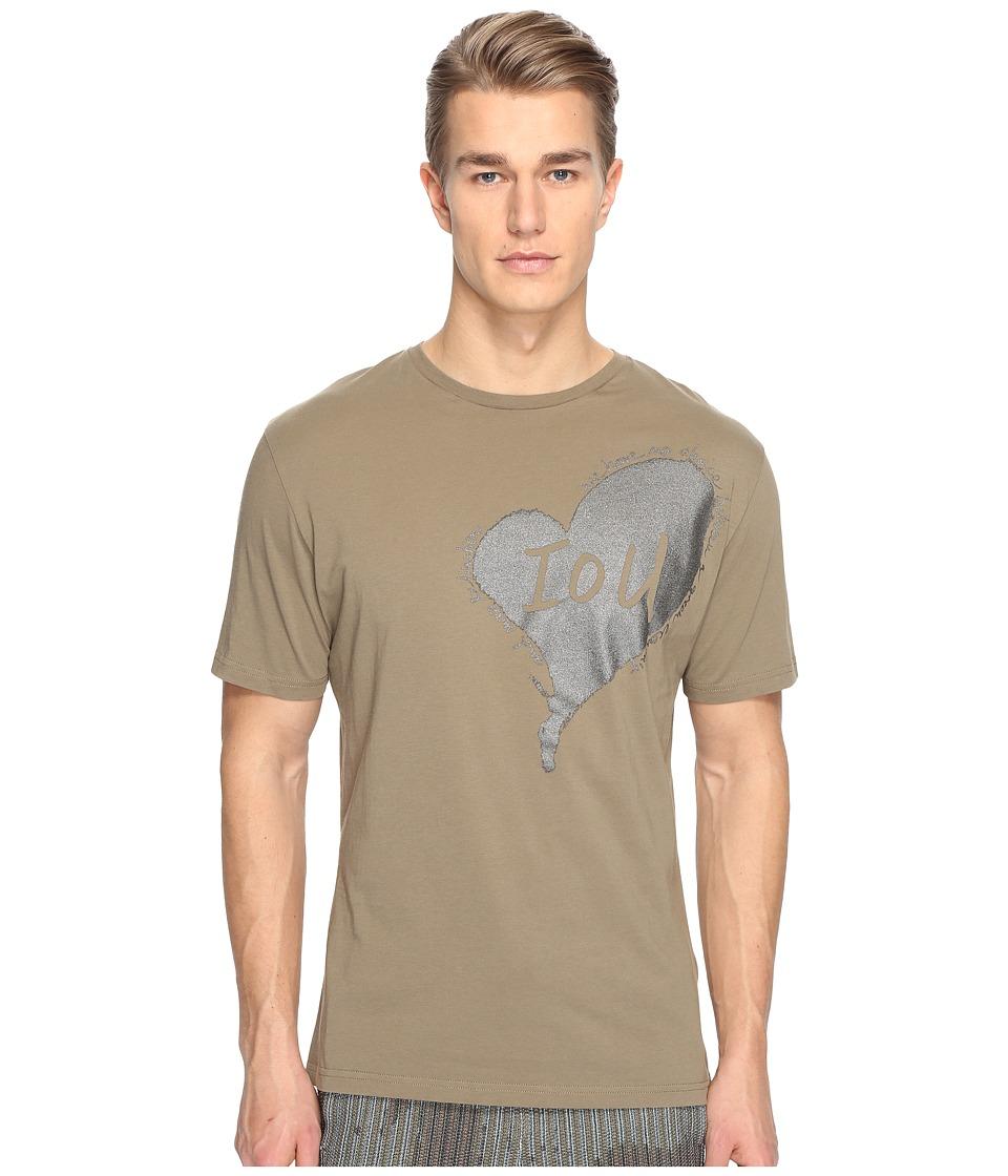 Vivienne Westwood - Heart T-Shirt (Olive) Men's T Shirt