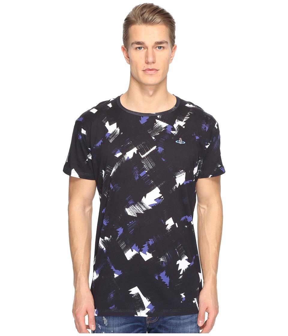 Vivienne Westwood - Squiggle Cross T-Shirt (Black) Men's T Shirt