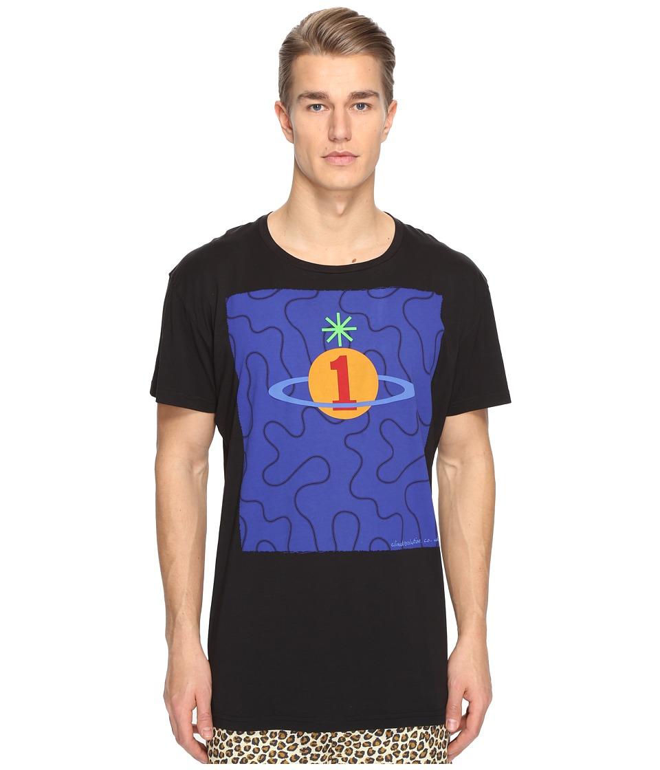 Vivienne Westwood - Squiggle Orb T-Shirt (Black) Men's T Shirt