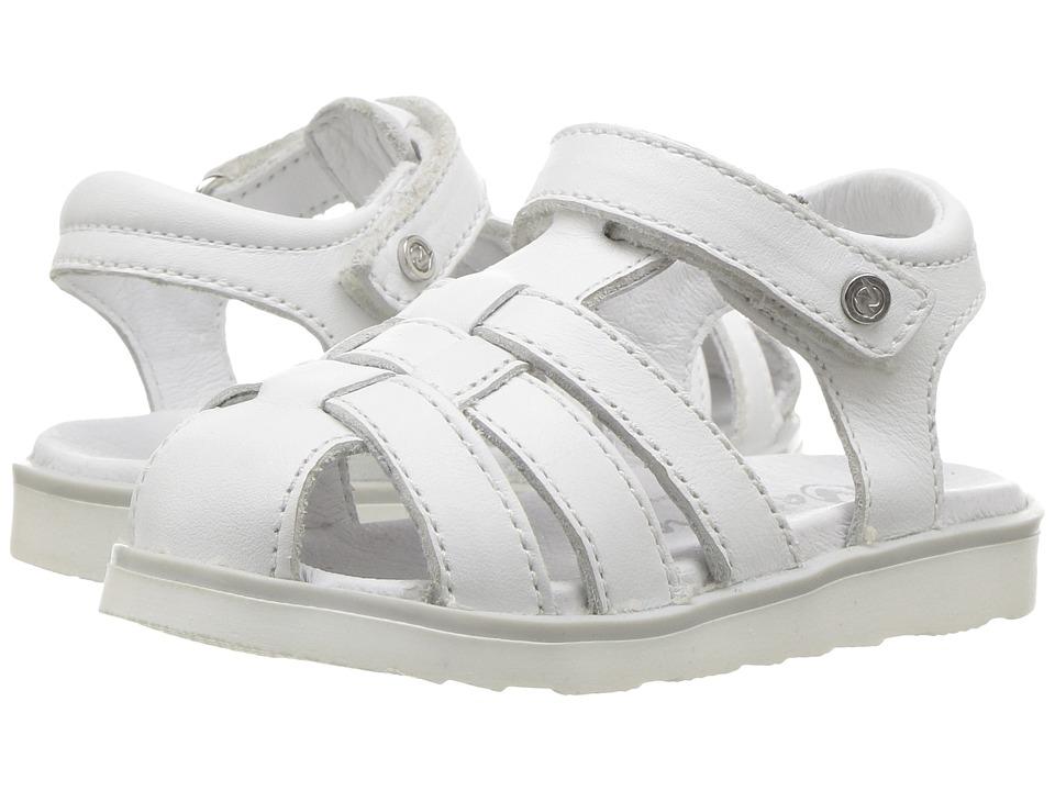 Naturino - 5004 SS17 (Toddler/Little Kid) (White) Girl's Shoes