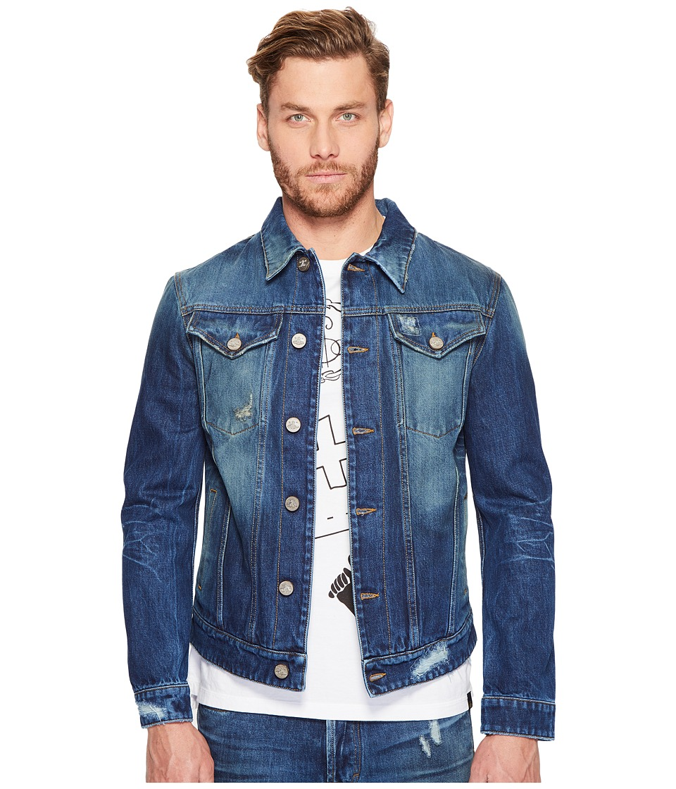 Vivienne Westwood - Anglomania Lee D. Ace Classic Jacket (Blue Denim) Men's Coat