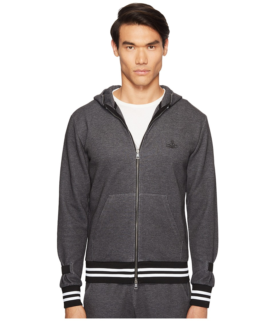 Vivienne Westwood - Anglomania Lee Workers Hoodie (Grey) Men's Sweatshirt