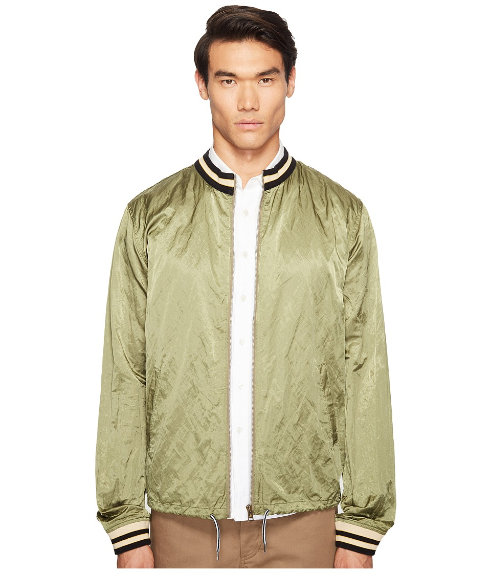 Vivienne Westwood - Anglomania Lee Bomber Souvenir Shirt (Green) Men's Clothing