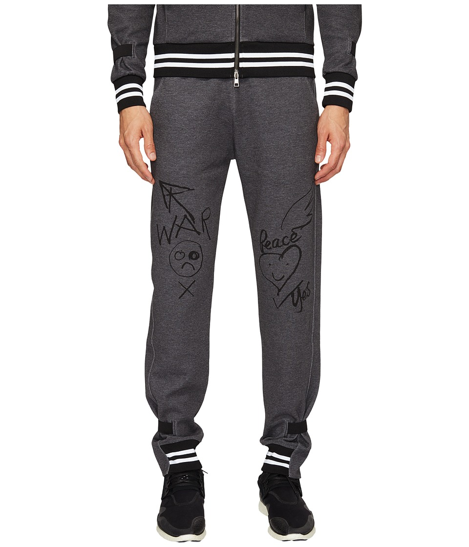Vivienne Westwood - Anglomania Lee Workers Track Pants (Grey) Men's Casual Pants