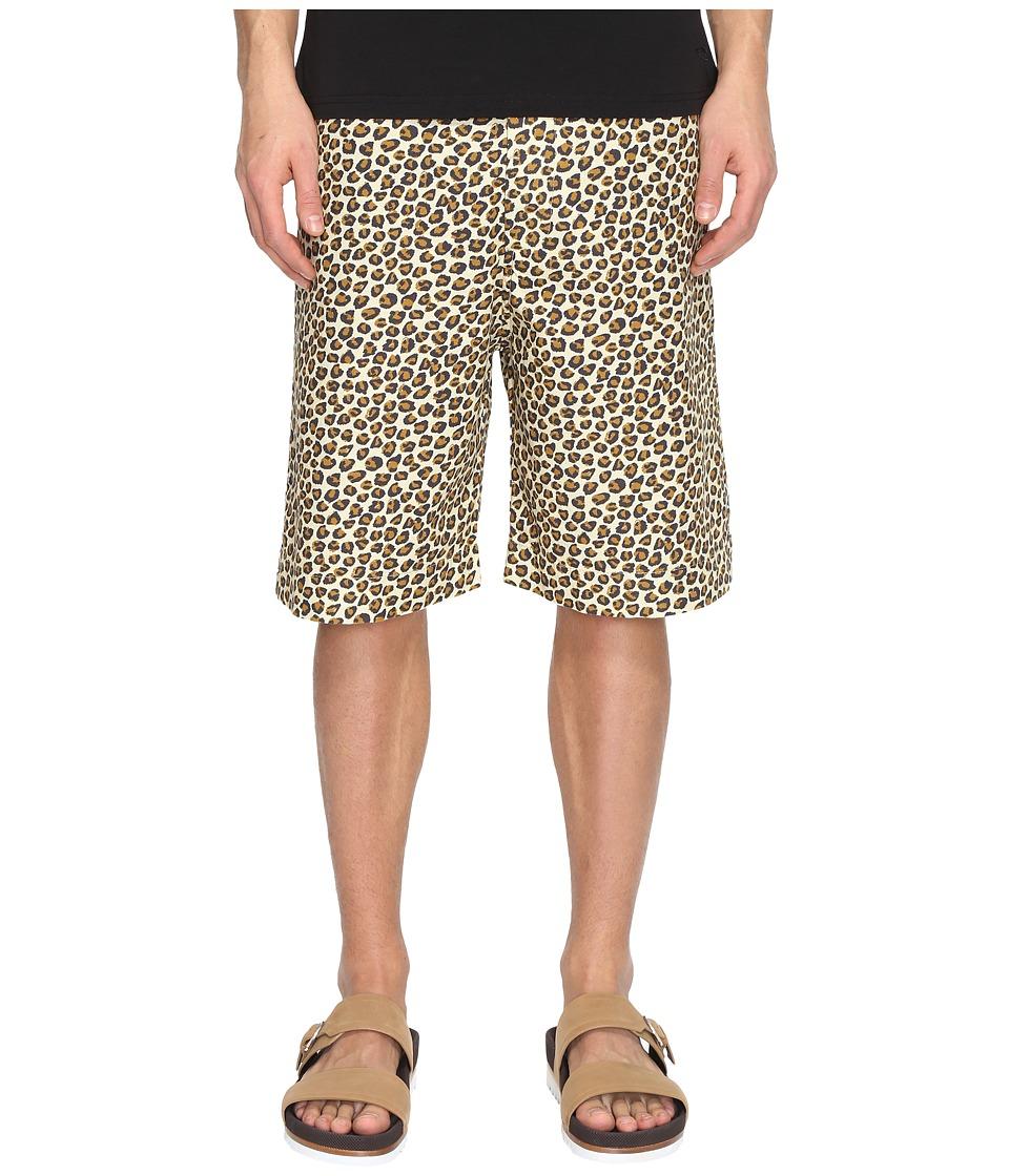 Vivienne Westwood - Anglomania Lee Truck Samurai Shorts (Leopard) Men's Shorts