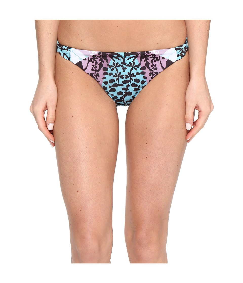 Mara Hoffman Verbena Basket Weave Bottom Sage Multi Swimwear