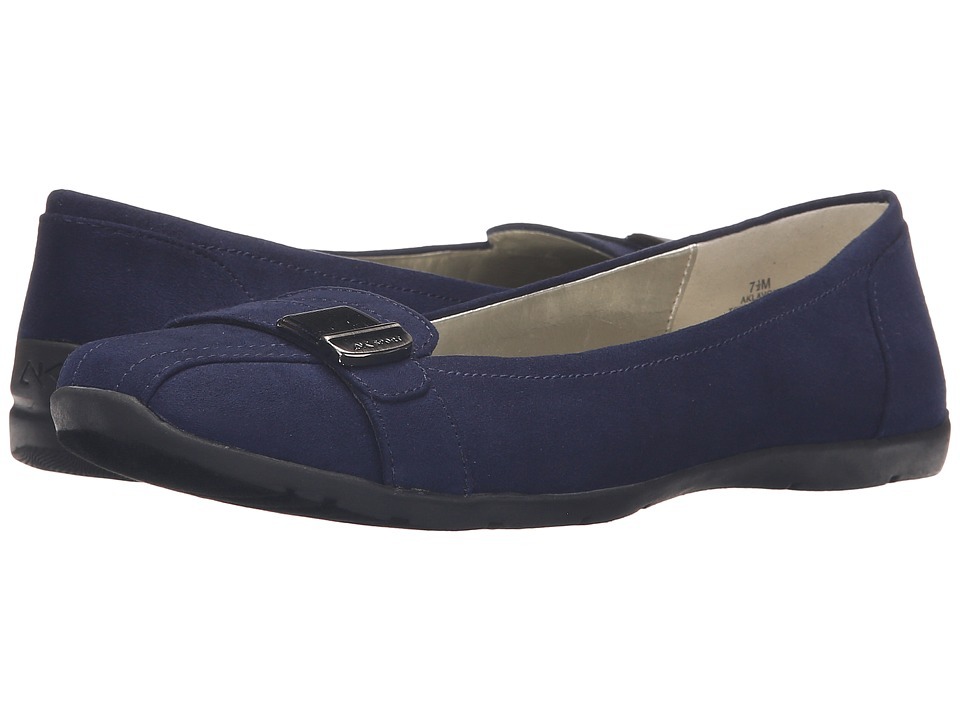 Anne Klein Lavon (Navy Fabric) Women