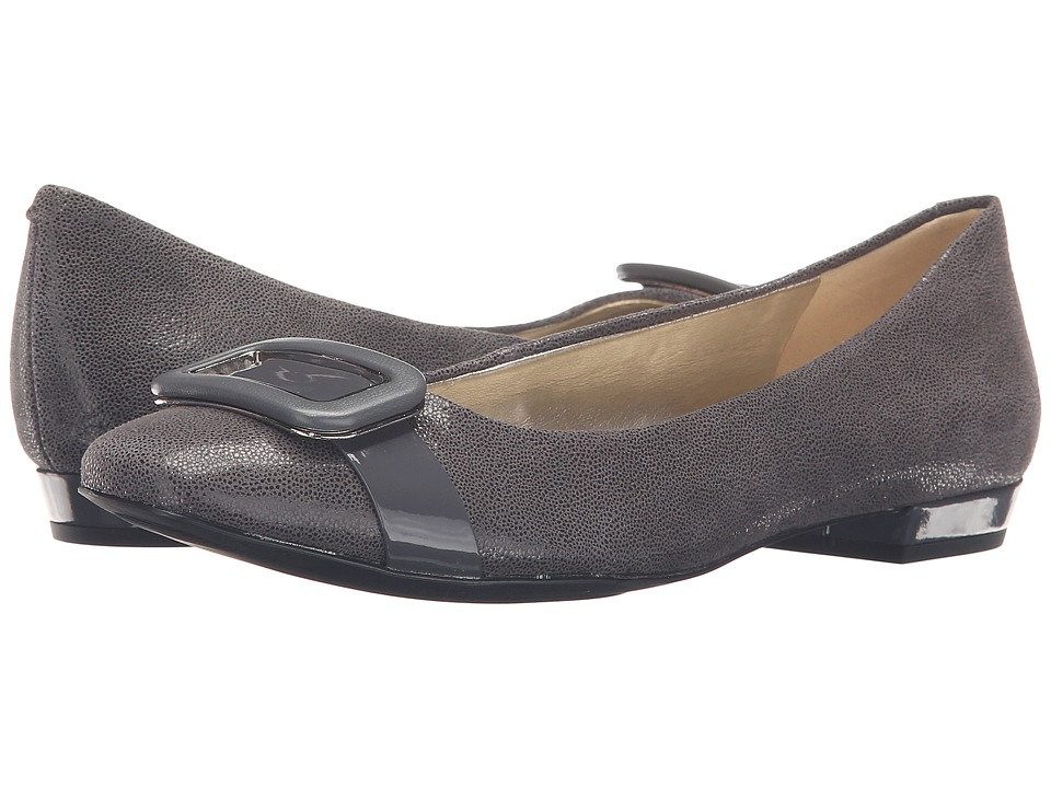 Anne Klein Elonie (Dark Grey Leather) Women