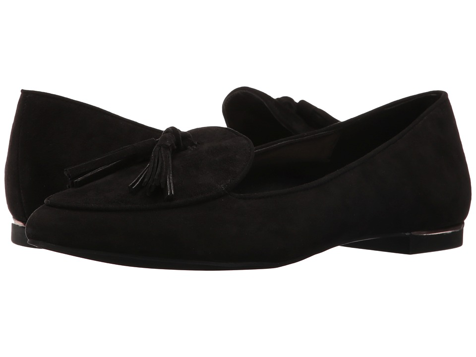 Jones New York - Sami (Black Kid Suede) Women's Flat Shoes