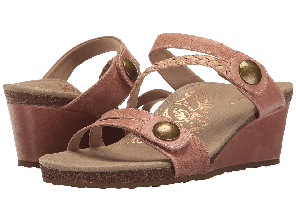 Aetrex - Lydia (Blush) Women's Sandals