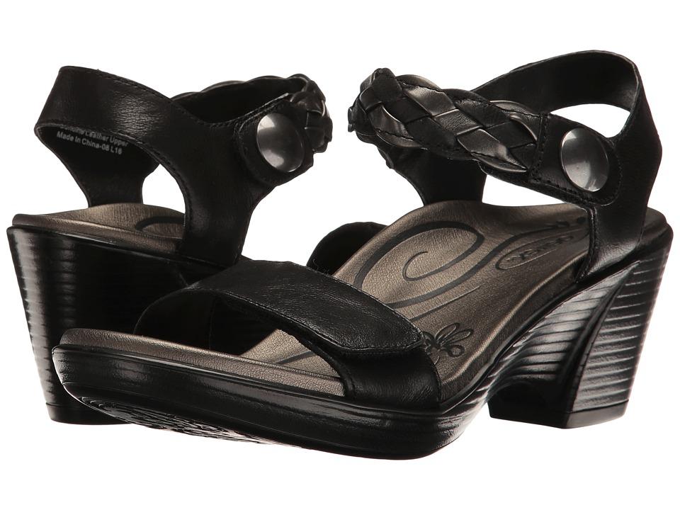 Aetrex - Sylvia (Black) Women's Sandals