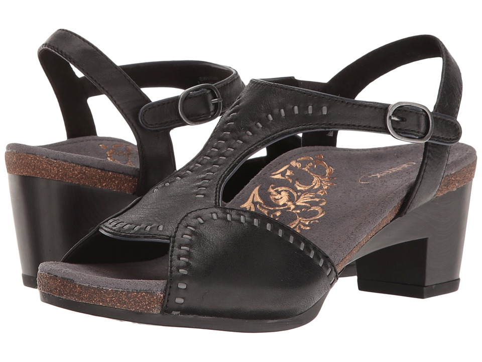 Aetrex - Rosalie (Black) Women's Wedge Shoes