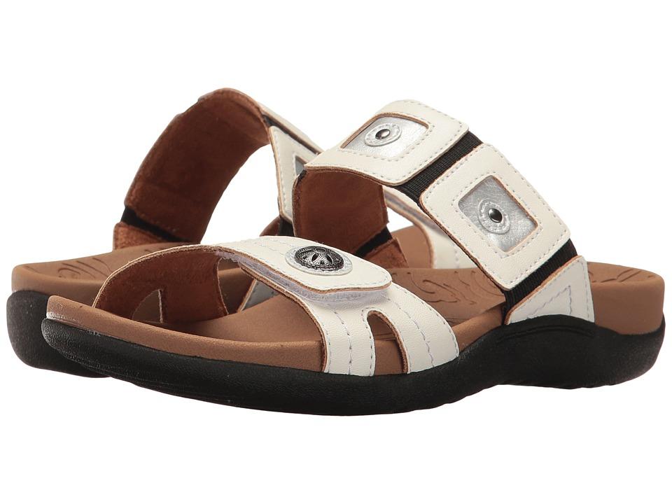 Rockport - Ridge Gore Band (White Multi) Women's Shoes