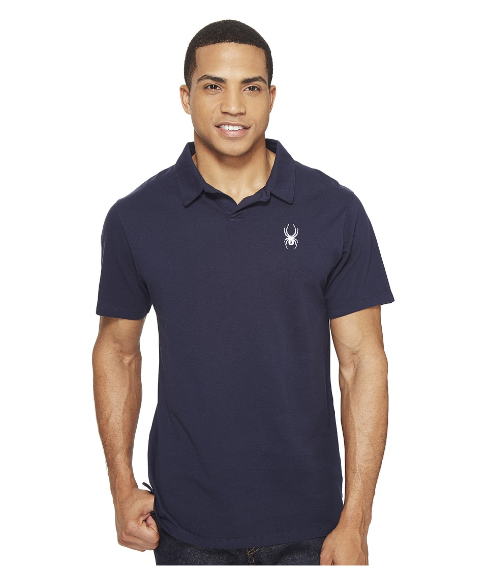 Spyder - Vintage Polo Shirt (Frontier) Men's Short Sleeve Knit
