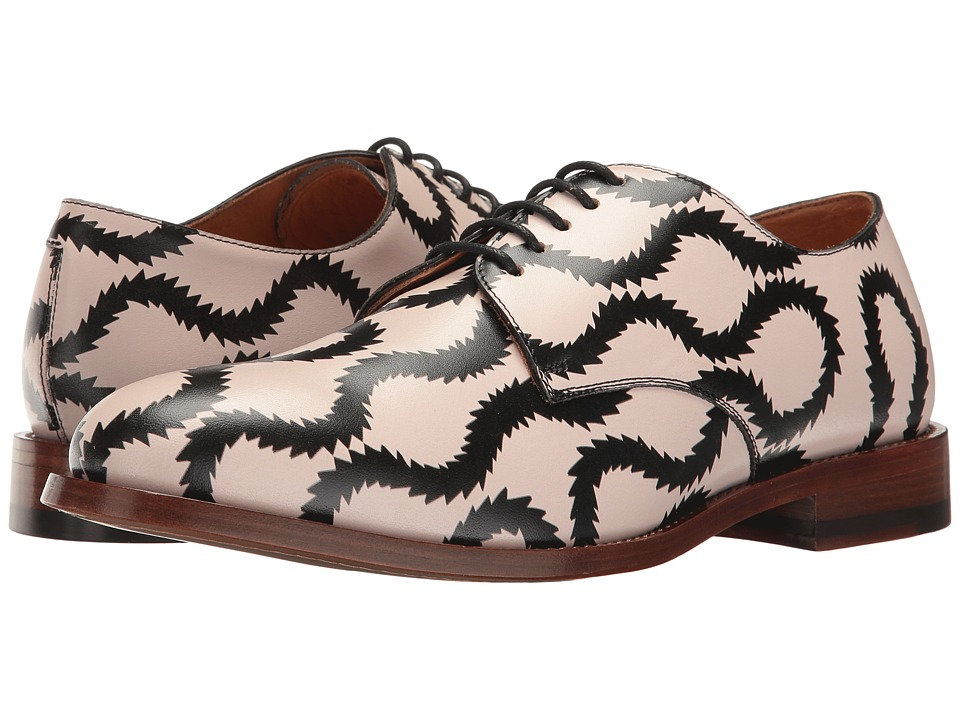 Vivienne Westwood - Utility Derby Shoe (Pink/Dark Blue) Men's Shoes