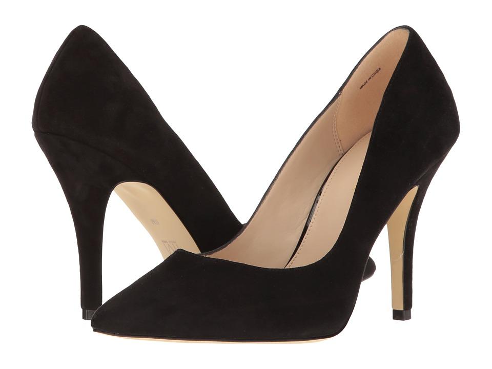 Pelle Moda - Valley (Black Suede) High Heels