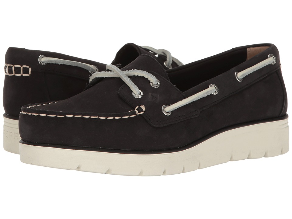 Sperry Azur Cora Nubuck (Black) Women