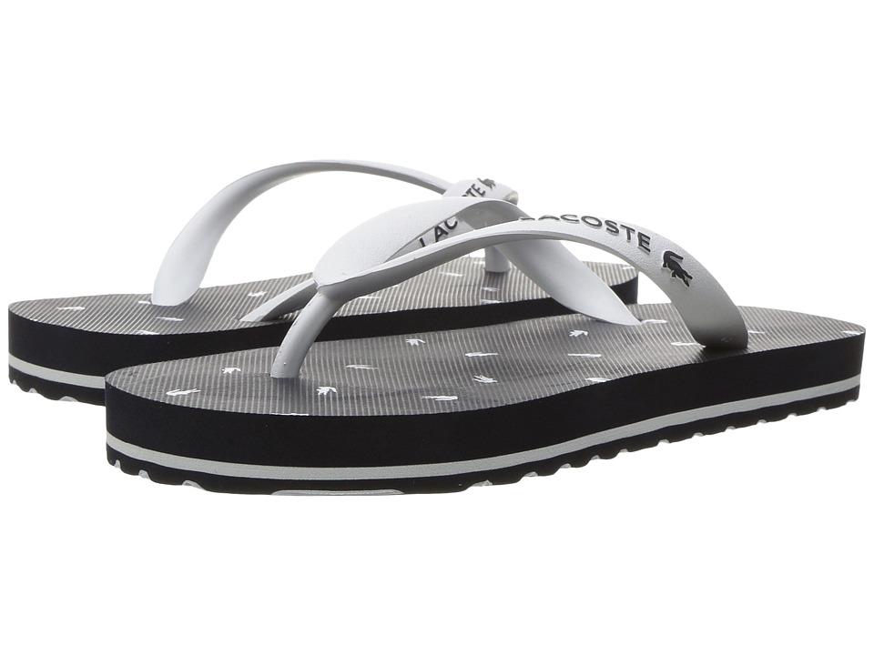 Lacoste Kids Nosara 116 1 (Little Kid) (Navy/White) Girls Shoes