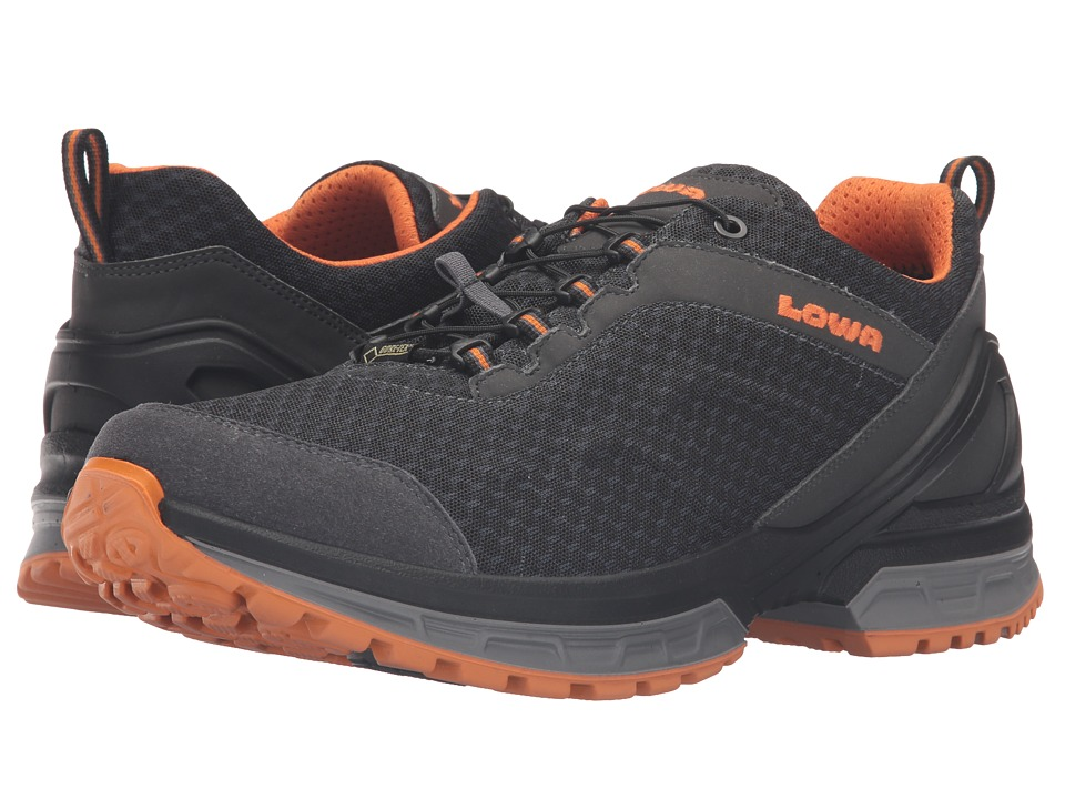 Lowa - Onyx GTX Lo (Graphite/Orange) Men's Shoes