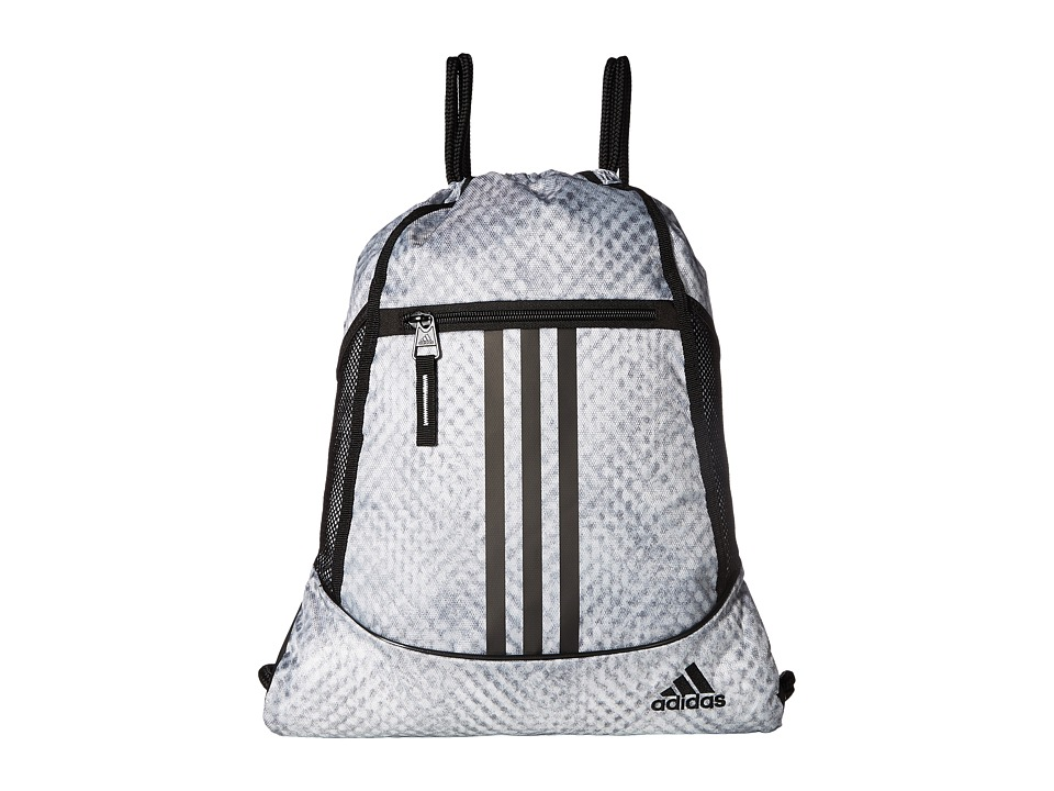adidas - Alliance II Sackpack (Spraybooth White/Black) Bags