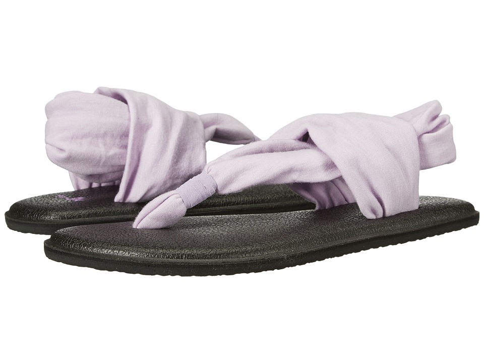 Sanuk Kids Yoga Sling Burst (Little Kid/Big Kid) (Orchid) Girls Shoes