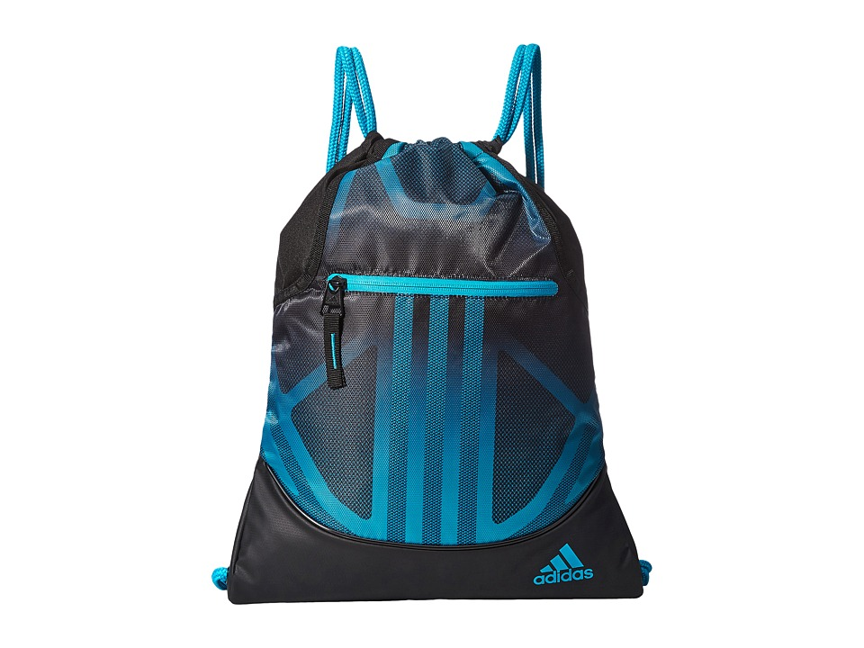 adidas - Alliance Sublimated Prime Sackpack (Lab Green/Black) Bags