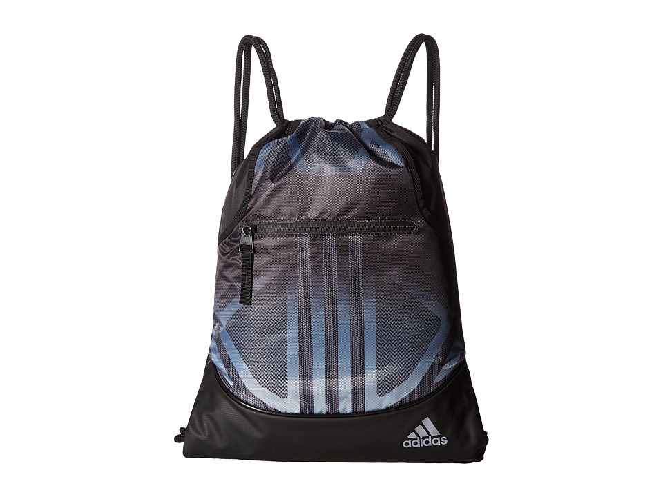 adidas - Alliance Sublimated Prime Sackpack (Black/Light Onix) Bags