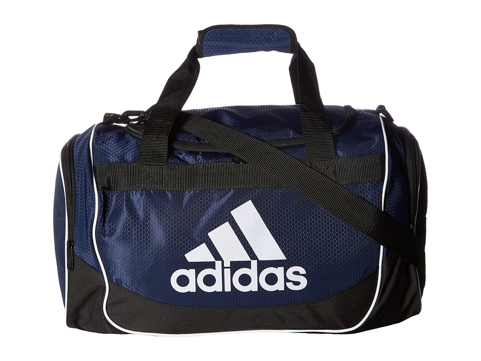 adidas - Defense Small Duffel (Collegiate Navy) Bags