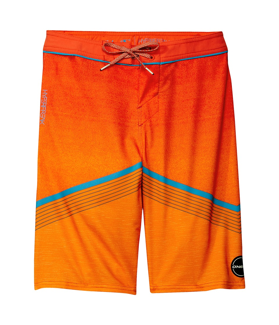 O'Neill Kids - Hyperfreak Boardshorts (Big Kids) (Neon Orange) Boy's Swimwear