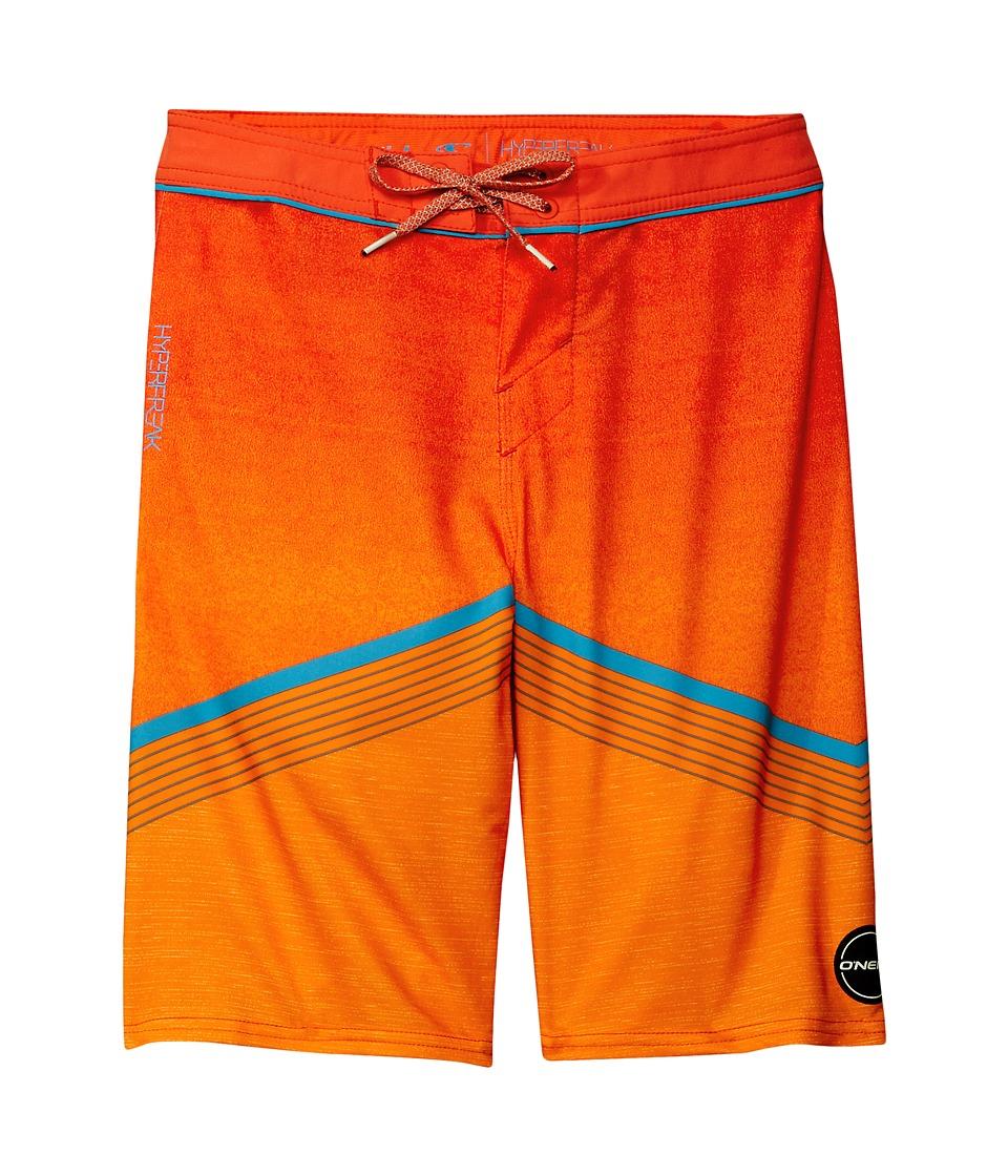 O'Neill Kids - Hyperfreak Boardshorts (Big Kids) (Neon Orange) Boy's Swimwear