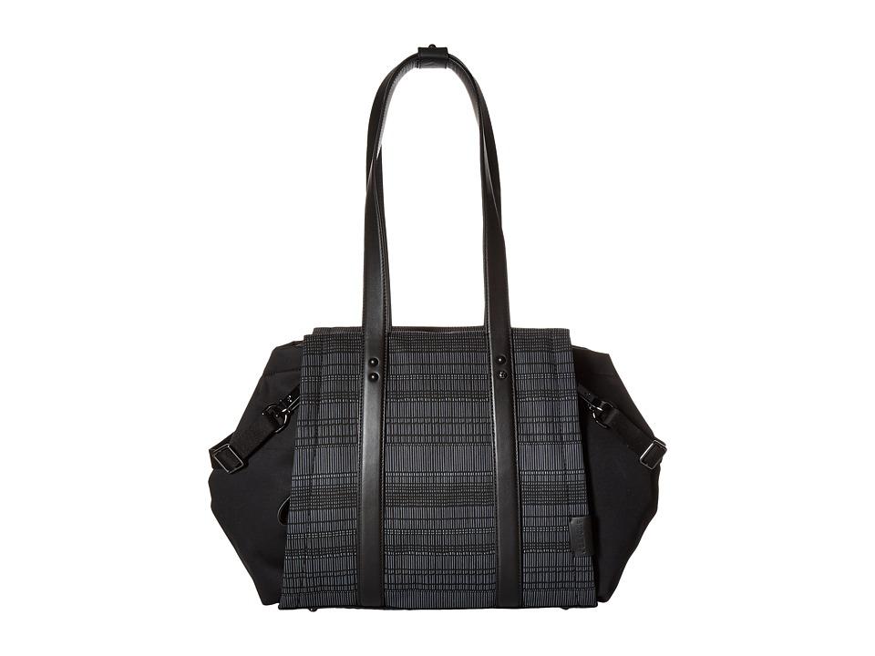 Skip Hop - Highline Diaper Bag Tote (Black Granite) Diaper Bags