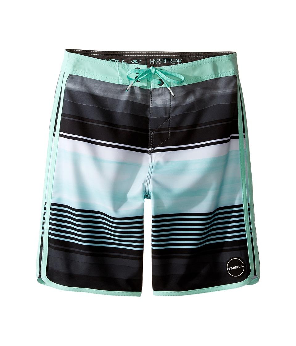 O'Neill Kids - Hyperfreak Heist Scallop Boardshorts (Big Kids) (Aqua) Boy's Swimwear