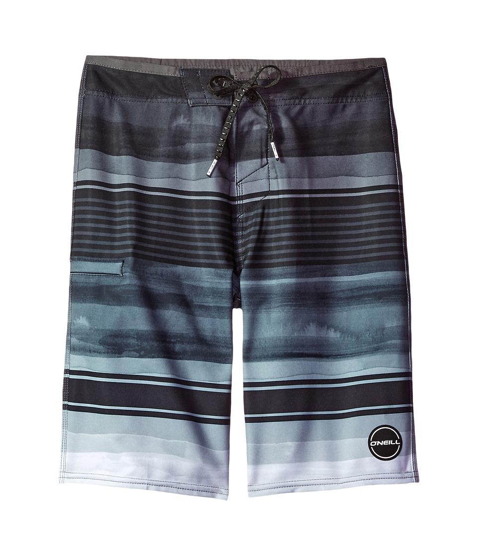O'Neill Kids - Hyperfreak Heist Boardshorts (Big Kids) (Black 1) Boy's Swimwear