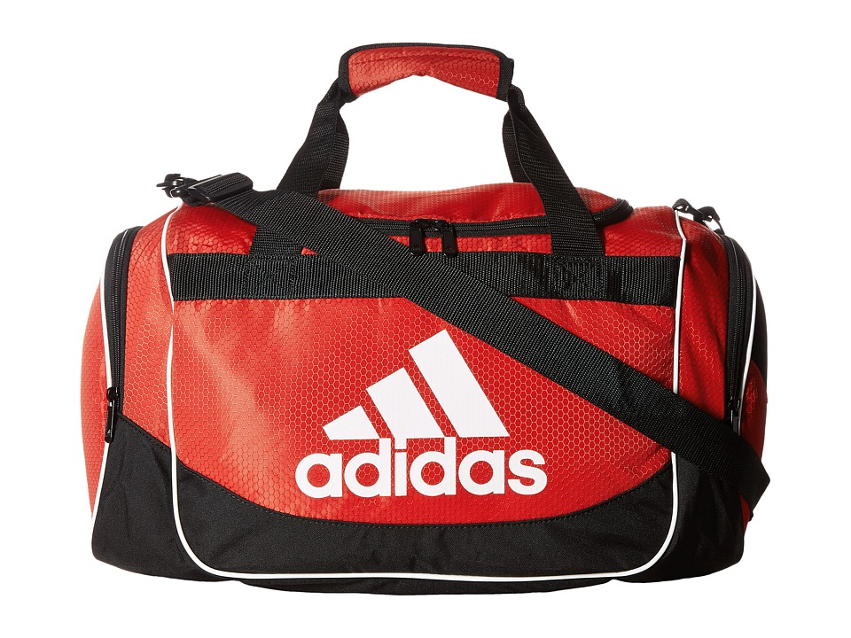 adidas - Defense Small Duffel (Scarlet) Bags