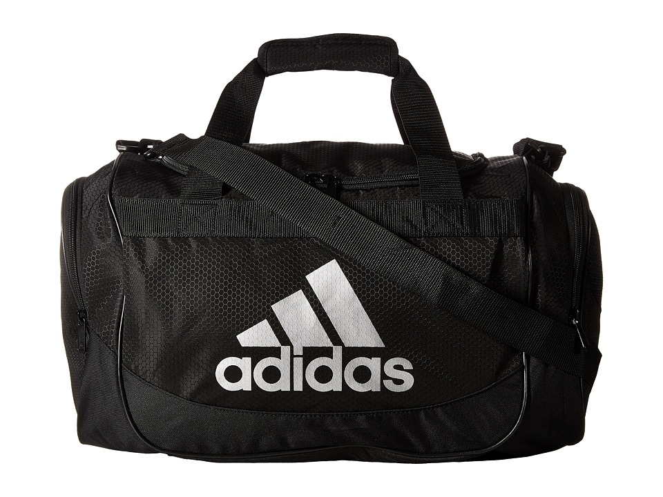 adidas - Defense Small Duffel (Onix/Black) Bags