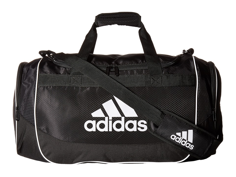 adidas - Defense Medium Duffel (Black) Duffel Bags